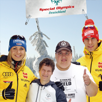 sponsoring Special Olympic